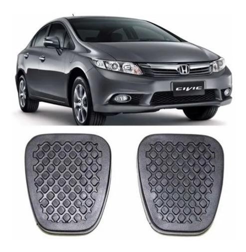 Kit De Capa Dos Pedais Freio E Embreagem Para O Honda Civic