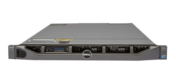 Servidor Dell Poweredge R620 Octa Core 2x300gb 64gb Ram