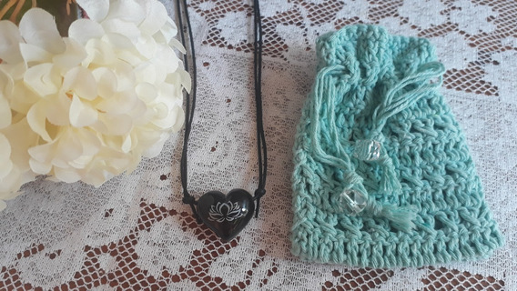 Colar Para Aromaterapia Lotus + Porta-colar La Vie En Rose