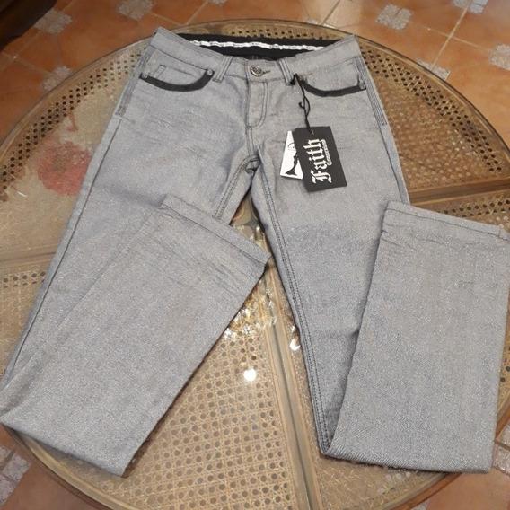 Pantalón Metalizado Importado
