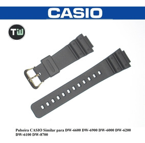 Pulseira P/ Casio Dw-6600 Dw-6900 Dw-6100 Dw-6000 Similar