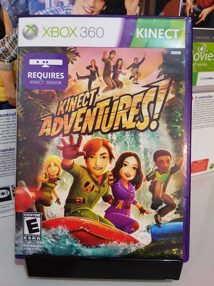 Kinect Adventures Xbox 360 Midia Física Pronta Entrega