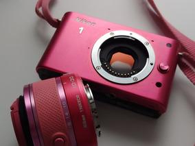 Câmera Fotográfica Nikon J1 Com Lente Zoom Equiv 26-80 Mm