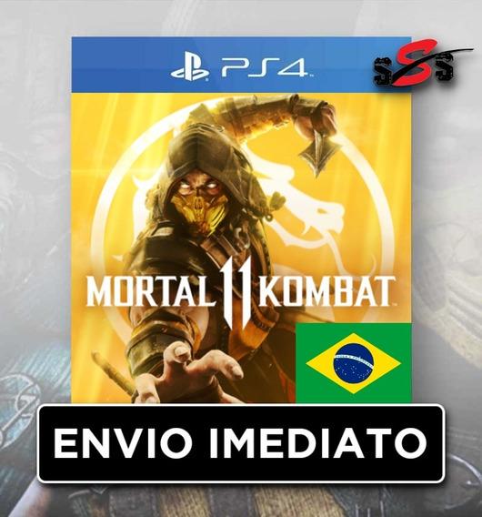 Mortal Kombat 11 Português Pt - Br Mk11 Ps4 1 Promoção