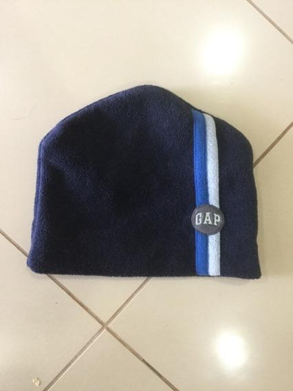 Gorro Touca Gap Original De Nyc Fleece Azul Marinho