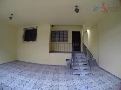 Casa Com 2 Dormitórios À Venda Por R$ 500.000,00 - Vila Diva (zona Leste) - São Paulo/sp - Ca0205