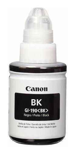 Imagen 1 de 3 de Botella De Tinta Canon Gi-190 G1100 G2100 G3100 G4100 Negro
