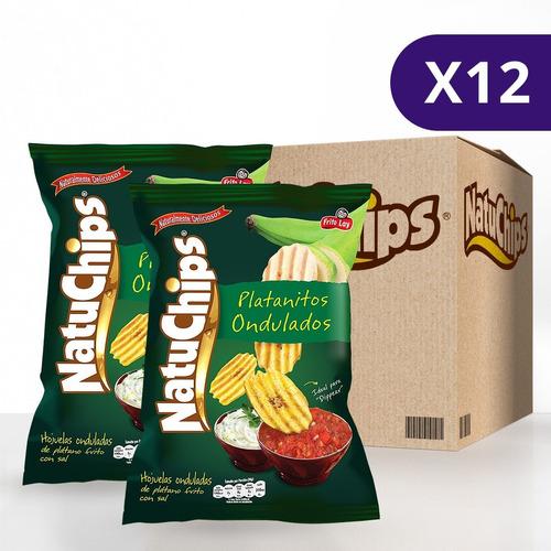 Natuchips® Ondulados - 12 Unidades De 245g