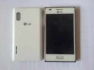 Celular LG 4,0¨ Optimus L5 LG-e612f Com Defeito - 2486