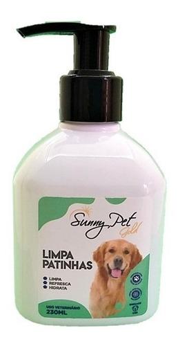 Limpador De Patinhas Para Cães E Gatos De Todas Raças 230ml