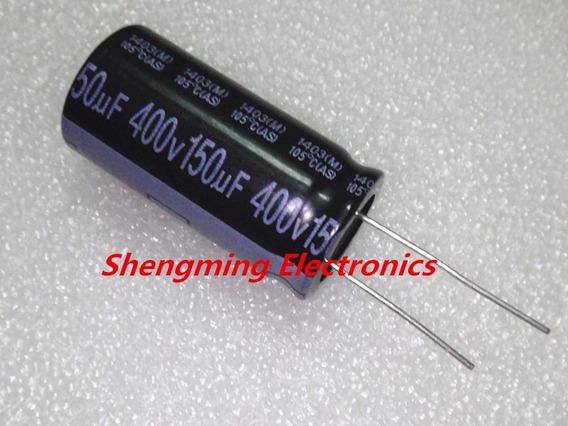 Capacitor Eletrolítico 150uf X 400v 105° 15x40mm 2 Peças