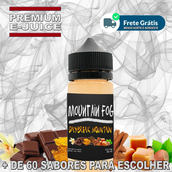 E Juice E Liquid Essência Premium Kit 5 30ml Vapers + Brinde