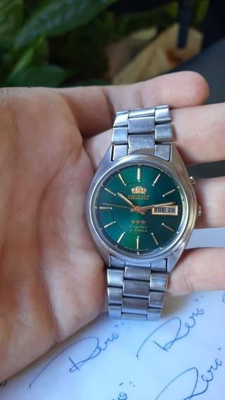 Relógio Orient - Automático - Seminovo - Impecável - R580