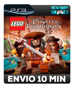 Lego Pirates Of The Caribbean: The Video Game - Psn Ps3 Prom