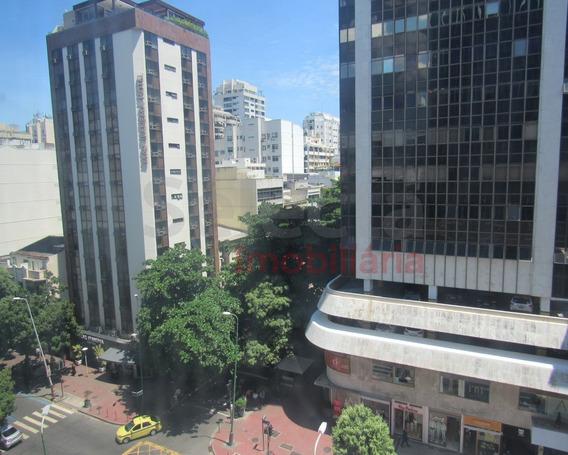 Sala Comercial De 30m² No Edifício Top Center , Na Parte Mais Nobre Da Rua Visconde De Pirajá, Esquina Da Rua Aníbal De Mendonça, Com Garagem (paga) Para Visitantes. - Sa00056 - 33502105