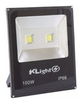 20 Refletor 100w - Klight - 100 W - Ip 66 - Branco Frio