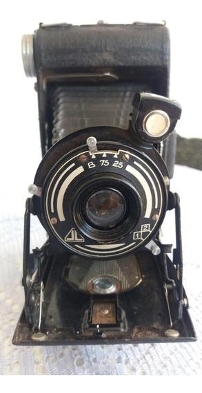 Máquina Fotográfica Vintage Antiga Sanfonada