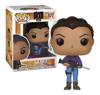 Funko Pop - The Walking Dead - Darryl - Negan - Sasha