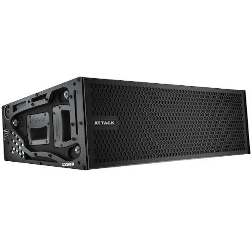 Line Array Ativo 2x8 Polegadas 1350w Vertcon L 208 D Attack