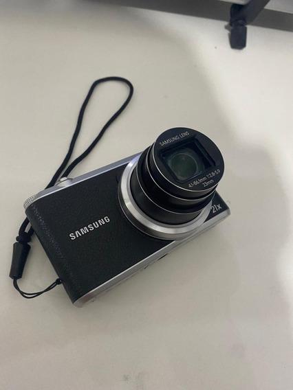 Câmera Samsung Smart Wb350f 16.3mp Lcd 3.0 Wifi Fullhd