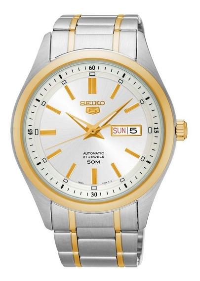 Relógio Seiko 5 Masculino Automático 21 Jewels Snkn92b1 S1sk