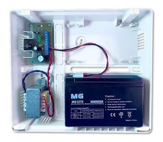 Fuente Auxiliar Supervisada 1,5 Amp. + Batería