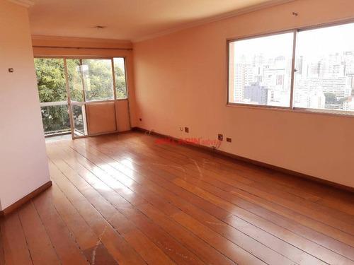 Imagem 1 de 29 de Apartamento Com 3 Dormitórios, 3 Vagas À Venda, 161 M² Por R$ 1.300.000 - Morro Dos Ingleses - São Paulo/sp - Ap10301