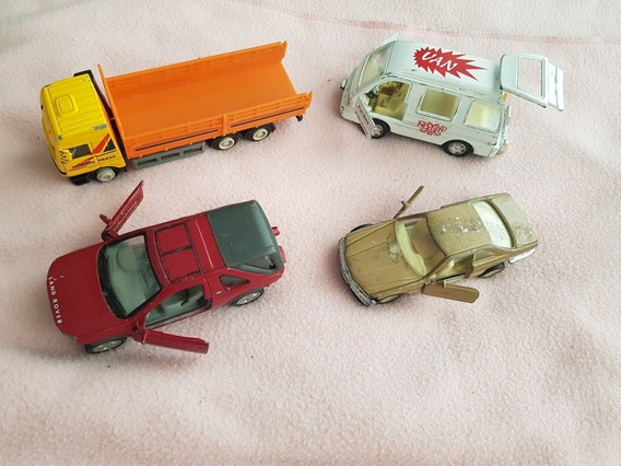 Lote De 4 Autos Welly Y Otro