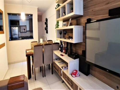 Apartamento Com 1 Dormitório À Venda, 60 M² Por R$ 270.000 - Praia Das Astúrias - Guarujá/sp - Ap4496 - 34711396