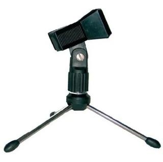 Base Para Micrófono De Mesa Radox Con Clip