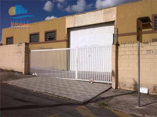 Barracão Para Alugar, 500 M² Por R$ 5.500,00/mês - Jardim São José - Campinas/sp - Ba0080