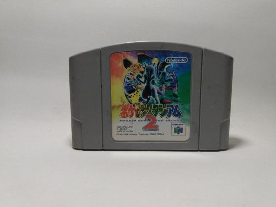 Pokémon Stadium 2 Nintendo 64, Original, Japonês
