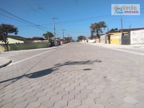 Casa Com 2 Dormitórios À Venda, 63 M² Por R$ 298.000,00 - Gaivota - Itanhaém/sp - Ca0782