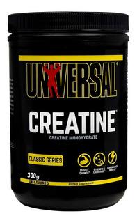 Creatina X 300gr - Previene La Fatiga Muscular - Universal