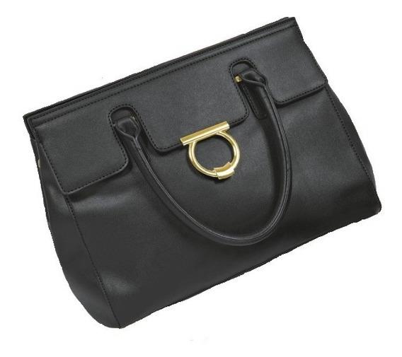 Bolsa Bolso Dama Mujer Formal Tipo Handheld Negro
