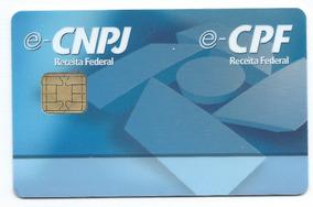 Kit 10 Smart Card Token Para Certificado Digital