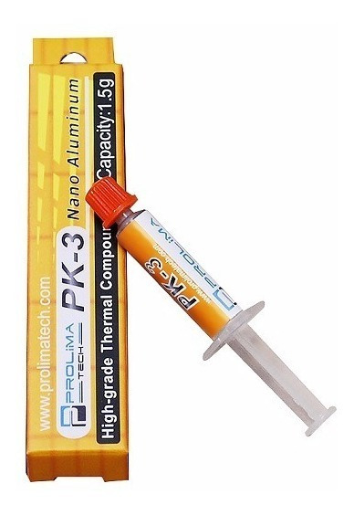 Prolimatech Pk-3 1.5g Pasta Térmica - Mx3 Mx4 As5 Silver