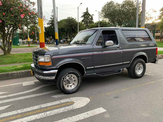 Ford Bronco Xlt Full Equipo