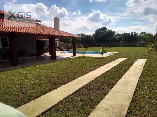 Imagem 1 de 24 de Chácara Com 3 Dormitórios À Venda, 1000 M² Por R$ 470.000 - Estância Bosque Verde (zona Rural) - São José Do Rio Preto/sp - Ch0104