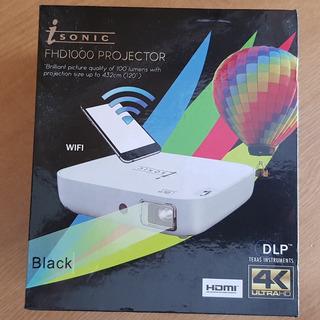 Projector Portatil Isonic Fhd1000 Wifi 4k