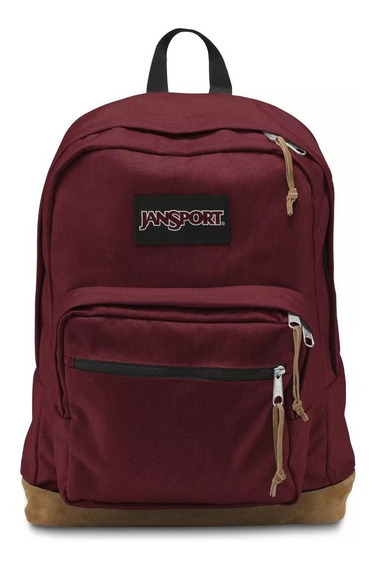 Mochila Jansport Right Pack 31 Litros Original Laptop Cuero