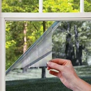 Lámina Espejada Film Adhesivo Para Ventanas Privacidad Sol