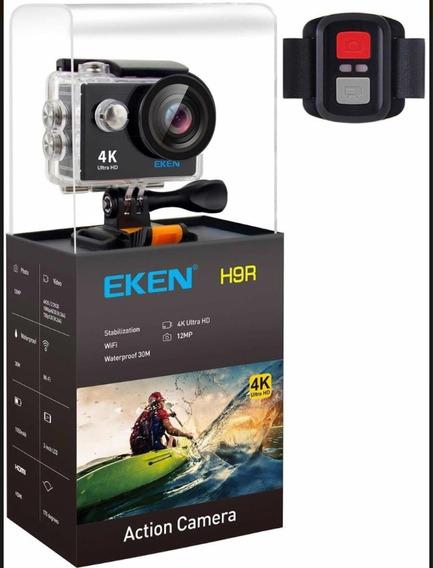 Cámara Eken H9r Control Remoto 4k Wifi 20mp 1080p Impermeabl