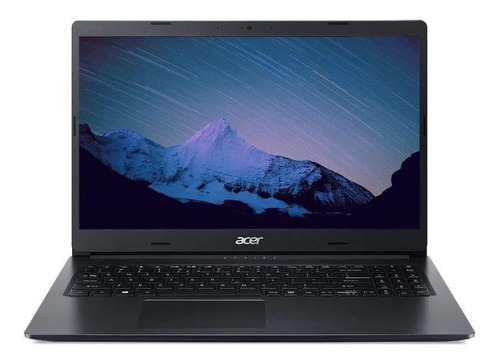 "Notebook Acer Aspire 3 A315-23 preta 15.6"", AMD Ryzen 5 3500U 12GB de RAM 1TB HDD, AMD Radeon Graphics 60 Hz 1366x768px Windows 10 Home"