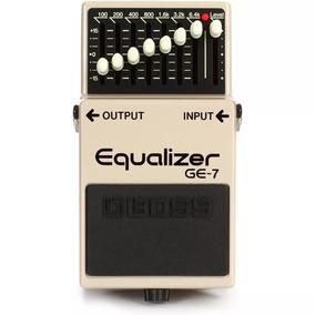 Pedal Boss Equalizador Grafico Ge7 Para Guitarra Ge-7