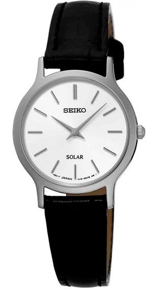 Relógio Seiko Solar Feminino Sup299b1 B1px Diâmetro 26mm (se