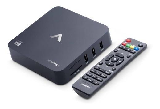 Smart Tv Box 4k - Aquário Stv2000
