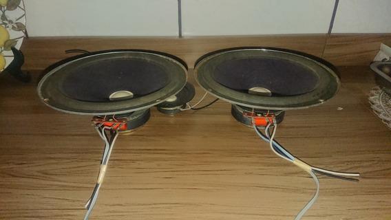 Autofalantes Gradiente Da Caixa Ts80 Original