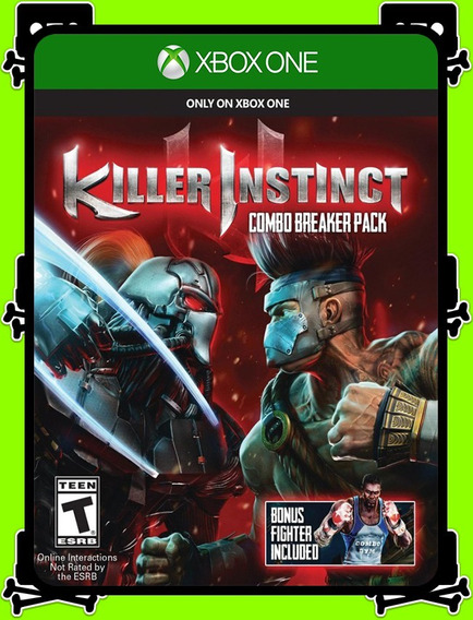 Killer Instinct Xbox One - 100% Original (mídia Física)