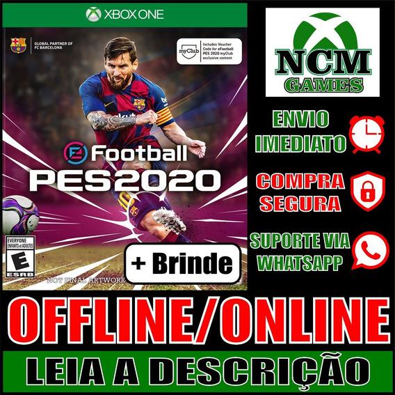 Pes 2020 Standard Edition Xbox One Offline/ Online + Brinde